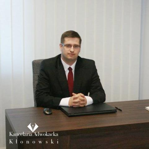 Adwokat Krzysztof Kłonowski